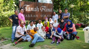 Daya Maxflo Team Building at Tanah Aina